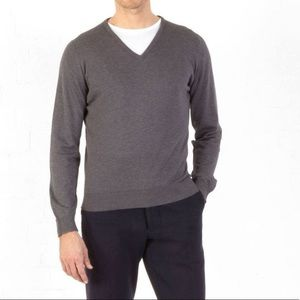 John Smedley Palermo in Black Pullover, Size L
